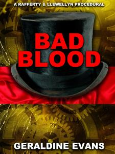 BAD BLOOD EBOOK COVER FROM SELFPUB BOOK COVERS.COM