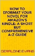 EBOOK COVER HOW TO EFORMAT YOUR NOVEL FOR AMAZON KINDLE