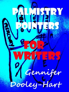 Palmistry Pointers for Writers No 8 WHITE TITLE