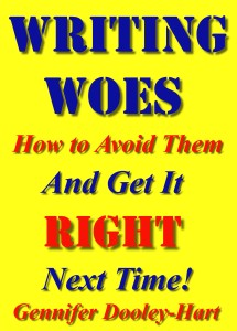WRITING WOES How To Avoid them And Get It RIGHT Next Time Mk 3